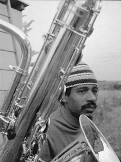 Roscoe Mitchell (this photo was used on a Sackville Records cover)