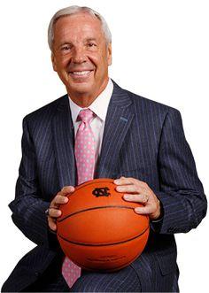 Head Coach Roy Williams of the North Carolina Tar Heels. Unc Chapel Hill, Unc Tarheels, University Of North Carolina, Tar Heels, Basketball Teams, Carolina Blue, Die Hard, Birthdays, College