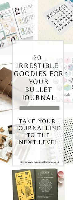 Bullet Journal   BuJo   Bullet Journal Accessories   Bullet Journal Supplies