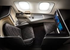What do you think of these first-class cabin interiors for British Airways' new Dreamliners?