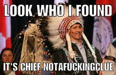 every time Trudeau dresses up in clothing not of his culture! He has no true identity other than S T U P I D. Funny As Hell, You Funny, Funny Cute, Hilarious, Political Quotes, Political Cartoons, Trudeau Canada, Funny Memes, Jokes