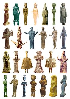 26 Goddess Sculptures from the Iron Age (plate 1)