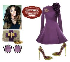 """""""108th Holy Convocation!"""" by cogic-fashion ❤ liked on Polyvore featuring Esme Vie, Christian Louboutin, Chanel and House of Holland"""