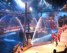 Ahoy Matey! Celebrate the Pirate Spirit with fun and adventure at Pirates Voyage Dinner & Show in Myrtle Beach, South Carolina! (Photo via Instagram by@reneepirog - Click on the pin for more info and other shows)