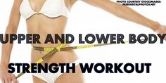 LEAN OUT Upper & Lower Body CHISEL strength training Routine!! 20 minutes!