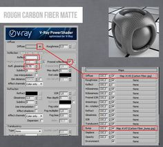 Vray Carbon Fiber Material 3DS MAX