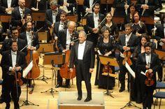 O encontro foi realizado para comemorar os 80 anos do maestro e da orquestra.