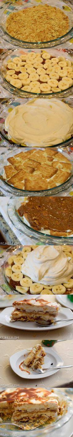 Cocina – Recetas y Consejos Sweet Desserts, Just Desserts, Sweet Recipes, Delicious Desserts, Yummy Food, Kitchen Recipes, Cooking Recipes, Mexican Food Recipes, Dessert Recipes