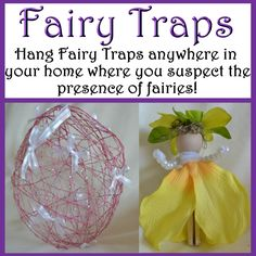 WOBC Member! Lisa Blevins - Owner - Fairy Traps    #wobc Hang Fairy Traps anywhere in your home where you suspect the presence of fairies! http://www.facebook.com/FairyTraps?ref=ts&fref=ts