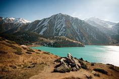 Big Almaty Lake, Trans-Ili Alatau, Kazakhstan