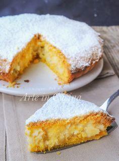 Torta sfogliatella frolla napoletana ricetta facile vickyart arte in cucina