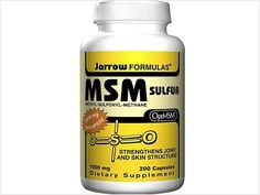 Try a Sulfur Supplement      MSM -- also known as methylsulfonylmethane -- is a safe, natural sulfur compound that blocks pain signals, boosts blood flow to injured tissues, prevents the release of pain-triggering hormones, such as histamine, and significantly reduces muscle spasms and inflammation, according to researchers at Portland's Oregon Health Sciences University. In fact, their studies suggest that taking MSM erases pain for almost 70 percent of people within three months.