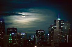 perigee moon | downtown denver, colorado