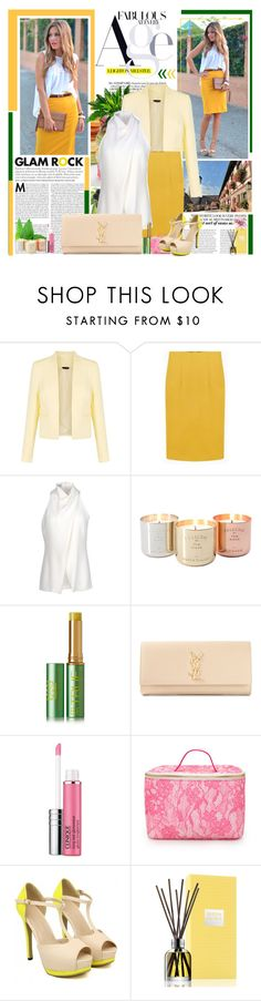 """Springtime 2"" by goharkhanoyan ❤ liked on Polyvore featuring Alberta Ferretti, Tom Dixon, Tata Harper, Yves Saint Laurent, Clinique, Forever 21 and Molton Brown"
