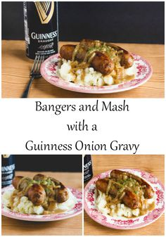 ... bangers and mash recipe | Bangers And Mash, Guinness and Gravy