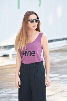 WINE | total outfit @_____kiki____ | #kisterss #kisterss_sunglasses