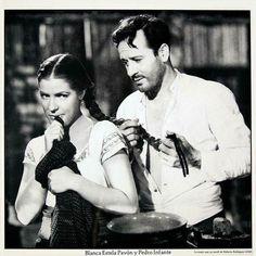 Pedro Infante y Blanca Estela Pavon