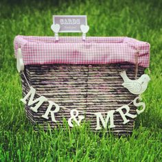 Wedding Card Box homemade {perfect for our picnic wedding theme}