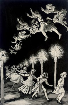 Paula Rego - 'How Many Miles to Babylon' from Nursery Rhymes collection