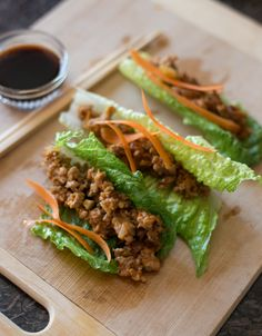 Pork Lettuce Wraps - Powered by @ultimaterecipe