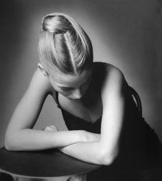 Lucie de la Falaise,1990  jeanloup sieff