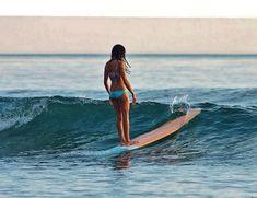 sport. swimwear. hawaii. #ELLEMERswimwear for bikinis that stay on when you surf.