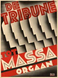 Cornelis Rose and Bergboom. De Tribune ad. 1932 by kitchener.lord, via Flickr