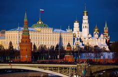 Moskou, de hoofdstad van Rusland -