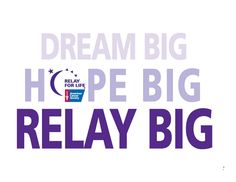 American Cancer Society Relay for Life Printable - Bing images