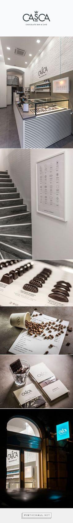 Casca Chocolate Bar and Cafe Branding on Behance | Fivestar Branding – Design and Branding Agency & Inspiration Gallery