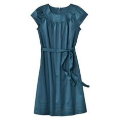 Yes, I realize it's from Target...but I think this dress is super-cute and non-fussy.  Add a wedge sandal and away I go.