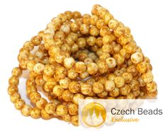 ·٠•●❂♥ Picasso Czech Glass Beads Round Yellow Czech Beads Bronze Brown White Picasso Bead Original Exclusive Authentic Premium Czech Beads 6mm 20pc https://czechbeadsexclusive.com/product/picasso-czech-glass-beads-round-yellow-czech-beads-bronze-brown-white-picasso-bead-original-exclusive-authentic-premium-czech-beads-6mm-20pc/?utm_source=PN&utm_medium=czechbeads&utm_campaign=SNAP #CzechBeadsExclusive #czechbeads #glassbeads #bead #beaded #beading #beadedjewelry #ha