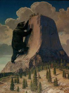 Devils Tower Медвежья берлога.