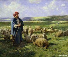 Julien Dupre (1851-1910)