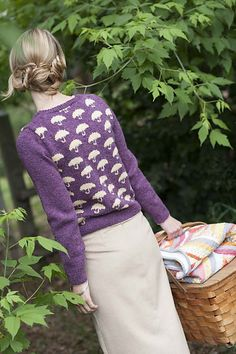 Ravelry: Pluie Cardigan pattern by Alex Capshaw-Taylor