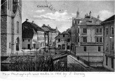 A postcard of the City of Gottschee.(A photograph by Josef Dornig) from John B.Gladitsch