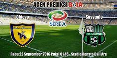 Prediksi Bola Chievo vs Sassuolo 22 September 2016