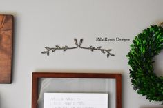 Gallery Art, Wall Art, Metal Branch, Metal Wall Art, Wall Gallery, Metal Sign, Rustic Home Decor, Rustic Modern, Wall Hanging, Wedding Gift, by JNMRusticDesigns on Etsy https://www.etsy.com/listing/457616354/gallery-art-wall-art-metal-branch-metal