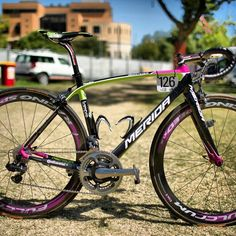 Lampre's Merida Scultura SL. Best looking bike on the World Tour?