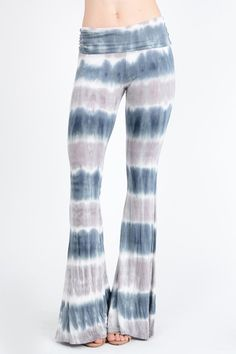 Tie Dye Palazzo Pants. 95% Rayon 5% Spandex Made with love in the USA