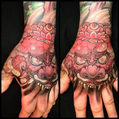 Finished this hand at @mondialdutatouage second day,, by freehand, Otsukaresama deshita! #mondialdutatouage
