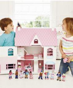 Rosebud Country Doll's House