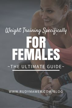 With over 500,000 views, make sure you haven't missed one of my most popular articles on Female Specific Weight Training!! http://rudymawer.com/blog/female-specific-weight-training/