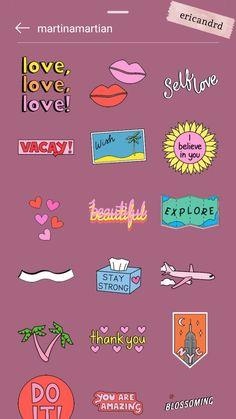 Instagram Emoji, Instagram And Snapchat, Instagram Blog, Instagram Quotes, Creative Instagram Photo Ideas, Instagram Story Ideas, Instagram Editing Apps, Snapchat Stickers, Gifs