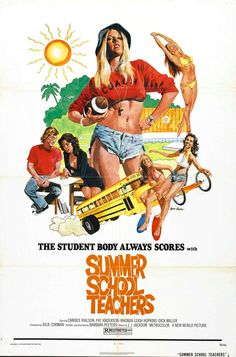 Poster for the film SUMMER SCHOOL TEACHERS (1974)