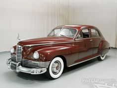 Packard Custom Super Clipper Sedan 1947.