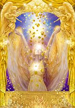 Angel of Abundance.. By Marius Marcus George