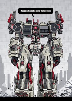 The Metroplex is buggest autobot and it's my favorite one.