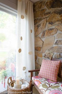 DIY White Burlap Curtains DIY Curtains DIY Home DIY Decor