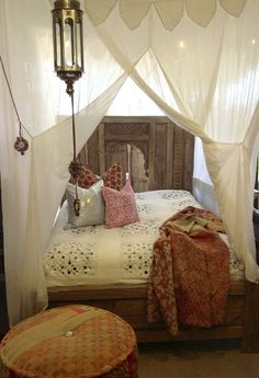 bohemian bedroom for teen #bedroomdesign #boho